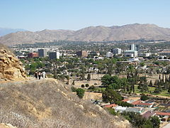 Descending Mt. Rubidoux