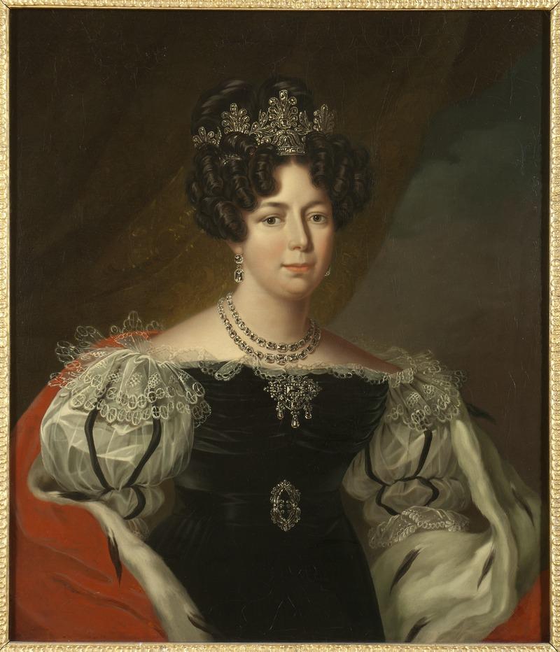Desideria, 1777-1860, drottning av Sverige och Norge (Fredric Westin) - Nationalmuseum - 15091.tif