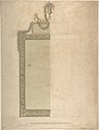 Design for a Pier-glass for Adderbury House, Oxfordshire, for the Duke of Buccleuch MET DP805612.jpg