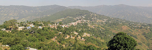 Dhankuta Bazaar from South