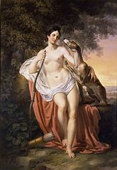 Painting of Diana