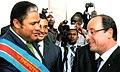 Didace Pembe et François Hollande.jpg