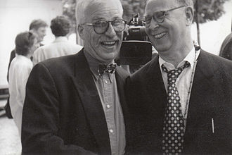 Sigmar Polke - Sigmar Polke (right) with his friend Dieter Frowein-Lyasso
