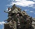 Differentially cemented & eroded sandstone (member C, Uinta Formation, Eocene; Fantasy Canyon, Utah, USA) 29 (24844499605).jpg