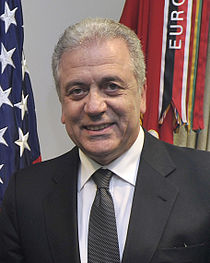 Dimitris Avramopoulos at the Pentagon April 2012.jpg