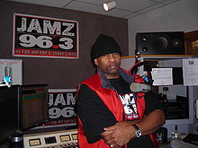 Dj Iroc At His Radio Show.JPG