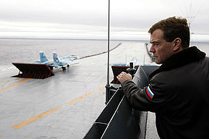 Dmitry Medvedev on the Admiral Kuznetsov-12.jpg