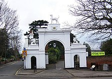 Dog Gate Bourne Hall and Spring Street Ewell - geograph.org.uk - 365409.jpg