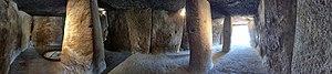 Dolmen of Menga - Panoramic view