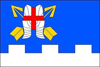 Dolní Životice - Image: Dolni zivotice vlajka