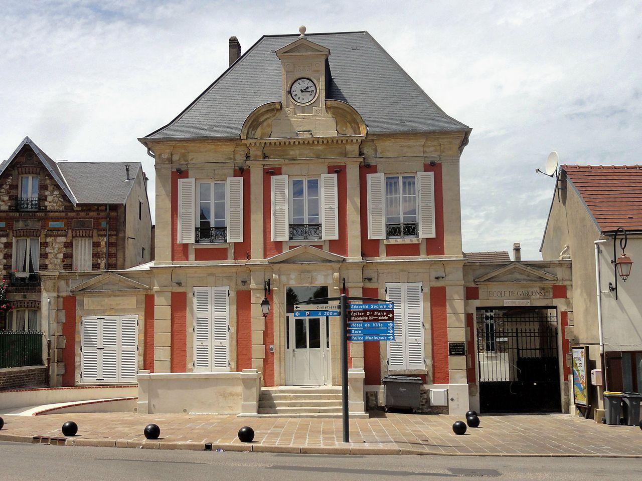 Mairie de domont for Hotel domont