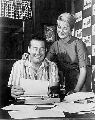 Don DeFore - Appearing with daughter, Penny, in the play, Generation in 1967.