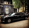 Donald Trump 'The Beast' arrived at Number 10.jpg