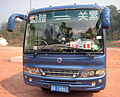 Dongfeng KM6603PA at China-Lao Border.jpg