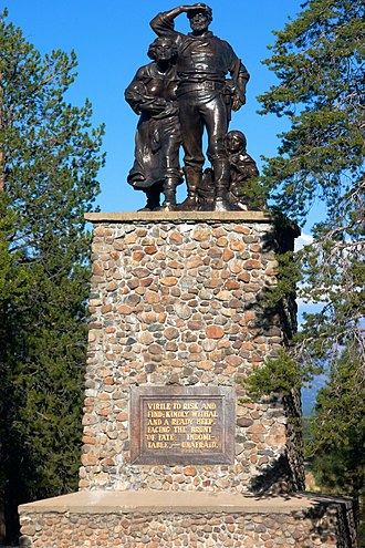 Donner Memorial State Park - The Donner Party Memorial at Donner Memorial State Park