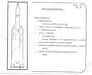 Titan IIIM - Titan IIIM proposal