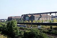 Dortmund - PW-Phoenixplatz - Schalthaus101+Phoenixhalle (Halde Hympendahl) 01 ies.jpg