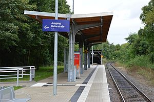 Dortmund-Löttringhausen station - Image: Dortmund Löttringhausen Bahnhof 1