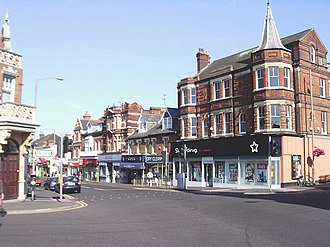 Dovercourt - Image: Dovercourt town centre geograph.org.uk 522577