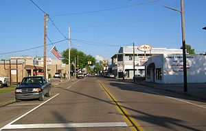 Humble, Texas - Downtown Humble facing east
