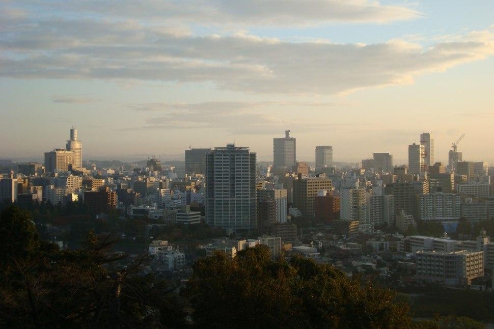 Downtown Buildings Sendai 01