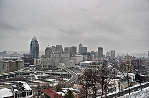Downtown Cincinnati - Downtown Cincinnati as seen from Mt. Adams