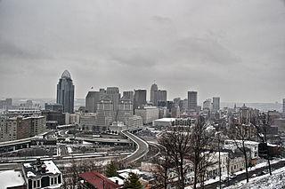 Downtown Cincinnati human settlement in Cincinnati, Ohio, United States of America