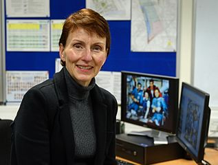 British astronaut Dr. Helen SharmanPhoto by Anne-Katrin Purkiss (21 October 2015)Source: Wikipedia 317px-Dr._Helen_Sharman.jpg