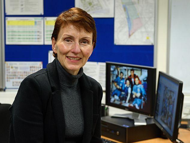 British astronaut Dr. Helen SharmanPhoto by Anne-Katrin Purkiss (21 October 2015)Source: Wikipedia 634px-Dr._Helen_Sharman.jpg