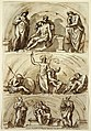 Drawing, Studies after Lunettes by, 1814 (CH 18116659).jpg