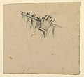 Drawing, study of hands holding flute, ca. 1890 (CH 18404431).jpg