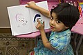 Drawing baby girl, Children's paintings, Iranian Child نقاشی کشیدن دختر بچه 19.jpg