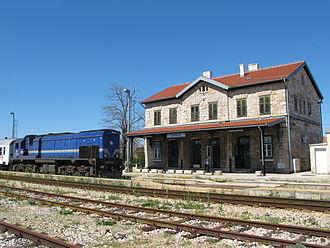 Drniš - Drniš railway station