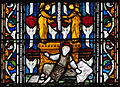 Dublin Christ Church Cathedral North Aisle Window Samuel and David Detail Samuel 2012 09 26.jpg