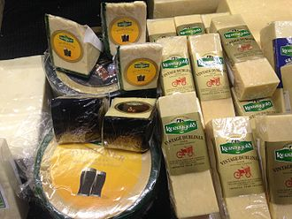 Irish cuisine - Dubliner cheese USA store