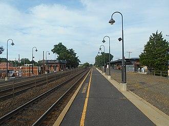 Dunellen station - Dunellen station in July 2014.
