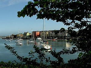 Dungarvan - Image: Dungarvan Bay