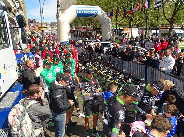 Dunkerque - Quatre jours de Dunkerque, étape 1, 6 mai 2015, départ (B114).JPG