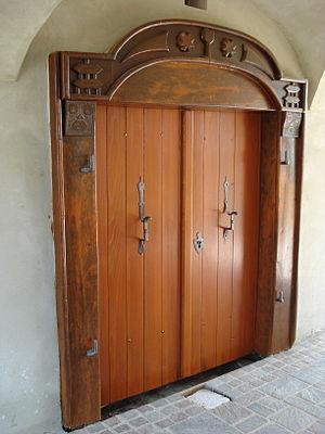 English: Banfi Castle in Štrigova - wine cella...