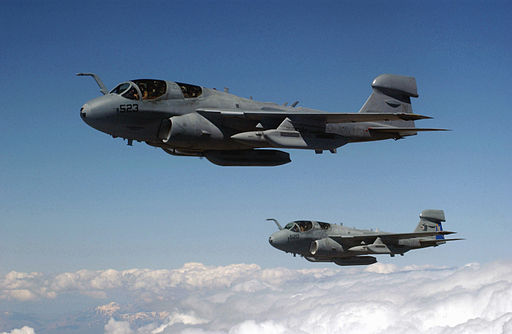 EA-6B Prowlers supporting Northern Watch