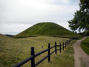 Eadgils - West royal tumulus at Old Uppsala, suggested grave of King Eadgils