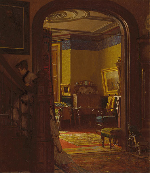 File:Eastman Johnson - Not at Home - Google Art Project.jpg