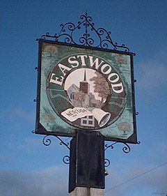 Eastwood sign, Rochford Corner - geograph.org.uk - 317097.jpg