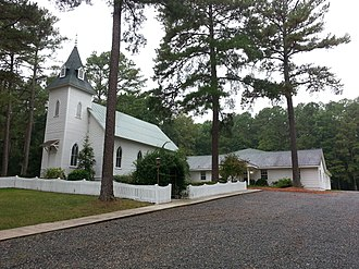 National Register of Historic Places listings in Chatham County, North Carolina - Image: Ebenezer Methodist Church 2013 09 21 18 03 40
