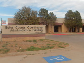 Ector County, Texas - Ector County Courthouse Administration annex building