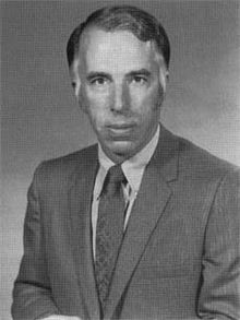 Black-and-white photo of Edgar Cortright