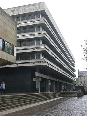 Edinburgh University Library - Main Library