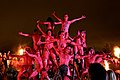 Edinburgh Beltane Fire Festival 2012 - Red Beastie Drummers.JPG