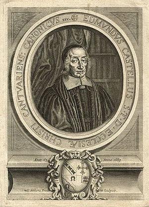 Edmund Castell - Edmund Castell