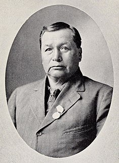 Edward Cornplanter Seneca leader
